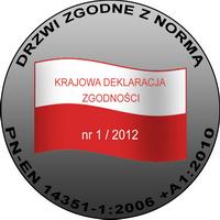 Drzwi zgodne z polską normą